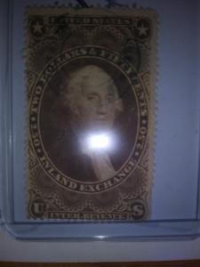 SCOTT # R84   2.50 INLAND EXCHANGE REVENUE 1869 !!!
