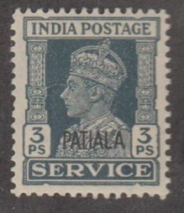 India Convention States - Patiala Scott #O63 Stamp - Mint NH Single