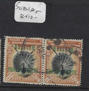 NORTH BORNEO (P1303B)  5C  BP  BIRD  SG 131A  PR CDS  VFU