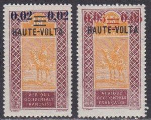 Upper Volta Sc #30-31 Mint Hinged