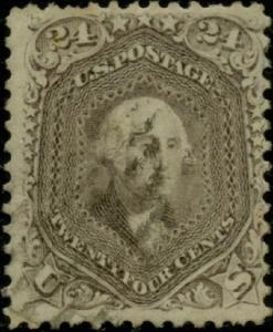 #78 F-VF USED WITH APS CERT CV $375.00 BP8111