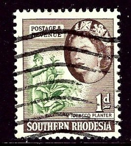 Southern Rhodesia 82 Used 1953 issue    (ap3957)