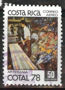 Costa Rica Scott C706 used 1977 Airmail