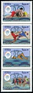 HERRICKSTAMP NEW ISSUES SYRIA Sc.# 1789 Athens Mediterranean Beach Games 2019