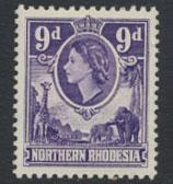 Northern Rhodesia  SG 69  SC# 69 MLH  see detail and scan