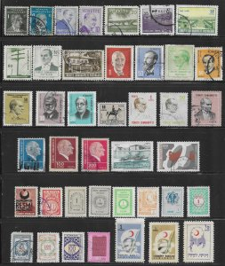 Turkey 40 different used stamps collection @5¢ each -   12942