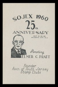SOJEX 1960 (25th) Stamp Show - MINT, Never Hinged, F-VF or Better