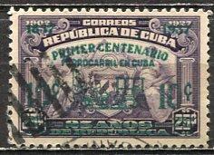 Cuba; 1937: Sc. # 355; O/Used Cpl. Set