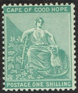 CAPE OF GOOD HOPE 1893 HOPE SEATED 1/- MNH ** WMK ANCHOR