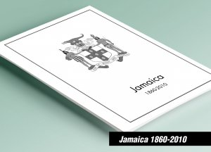 PRINTED JAMAICA 1860-2010 STAMP ALBUM PAGES (150 pages)
