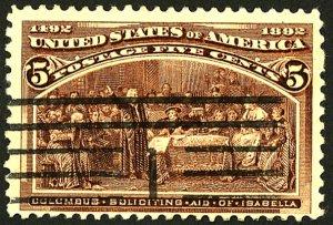 U.S. #234 USED