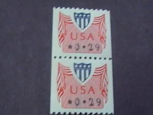 U.S.# CVP 31-MINT/NEVER HINGED-COIL PAIR--SHIELD --1992