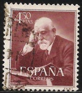 Spain 1952 Scott# 794 Used