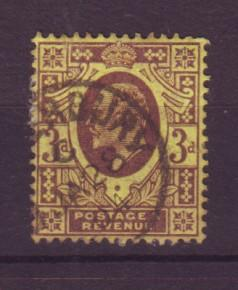 J19297 Jlstamps 1902 great britain used #132 king
