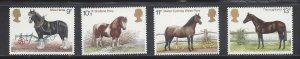Great Britain MNH 839-42 Horses