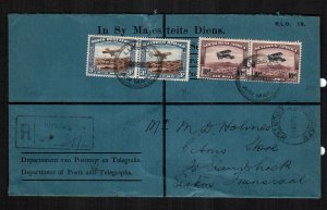 South West Africa  C5 - C6  used cover cat $ 260.00 aaaa