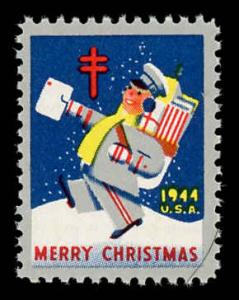 WX 119 Christmas Seal Mint (NH) 1944