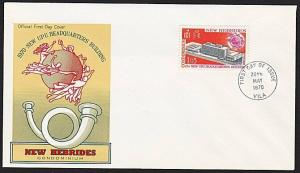 NEW HEBRIDES 1970 UPU commem FDC...........................................68390