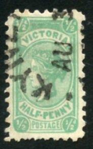 Australian States-Victoria Scott 193 UF-VFH - Queen Victoria - SCV $1.40