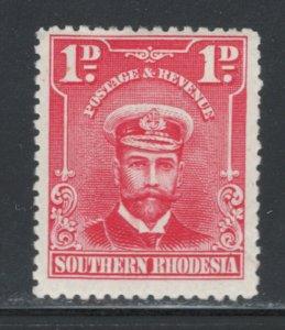 Southern Rhodesia 1924 King George V 1p Scott # 2 MH