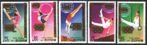 North Korea. 1983. A2130-34. Seoul Summer Olympics. MNH.