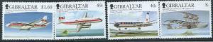 Gibraltar Wholesale - 10  Sets 2006 Air Svc #1048-51 Below Face!