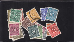 Germany: Sc #530-556, Used, Complete (S18337)