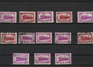 belgium railways parcel stamps ref r10920