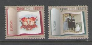 Estonia Sc 643-4 2010 Europa stamps mint NH