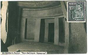 ARCHITECTURE: MAXIMUM CARD - MALTA 1930