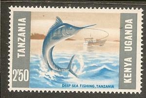 Kenya  KUT    Scott 163    Deep Sea Fishing    MNH