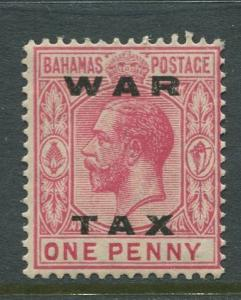 Bahamas -Scott MR12 - Queens Staircase War Tax -1919 - MNH - Single 1p Stamp