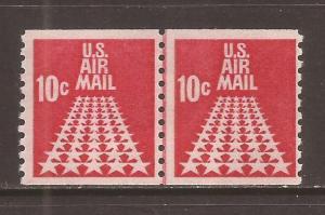 United States scott #C73 Line Pair m/nh stock #N4619