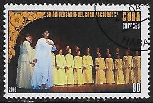 Cuba # 5096 - Cuban National Chorus - unused / CTO....{Z13}