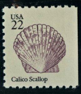 SCOTT 2120 CALICO SCALLOP - MNH & 1 MNH DUMPSTER STAMP