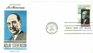 FLUEGEL 1275 Adlai Stevenson Presidential Candidate