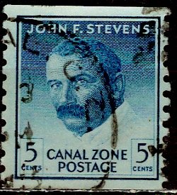 USA, Canal Zone; 1960: Scott # 155: O/Used Single. Stamp