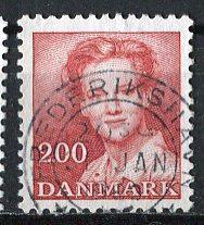 Denmark 1982: Sc. # 703: O/Used Single Stamp