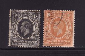 East Africa and Uganda Protectorates 40, 43 U King George V