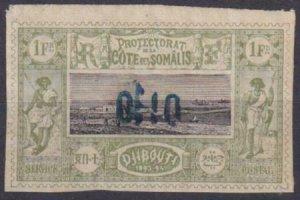Somali Coast 1894-1902 SC 17 Mint