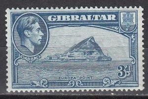 Gibraltar Scott 111b Mint hinged (Catalog Value $22.50)