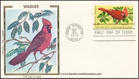 Colorano 1464 - 1972 Wildlife Conservation (4 covers)