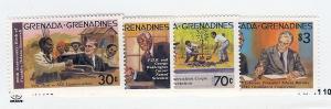 Grenada/Grenadines, 499-502, Roosevelt, Singles, MNH