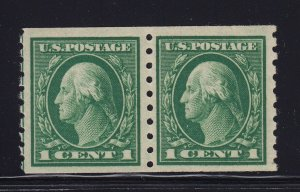 412 Pair VF+ original gum mint never hinged with nice color ! see pic !