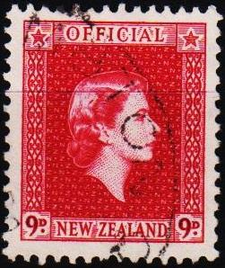 New Zealand. 1954 9d S.G.0165 Fine Used