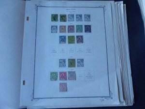 Reunion 1891-1957 Mint/Used Stamp Collection on Scott Specialty Album Pages LOA