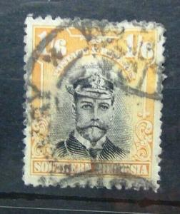 Southern Rhodesia 1924 - 1929 1/6 Used