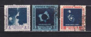 Mexico 774-776 Set U Astrophysics (B)