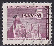 Canada 450 Hinged Used 1966 Parliamentary Library