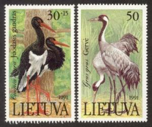 Lithuania MNH 403-4 Birds SCV 1.40